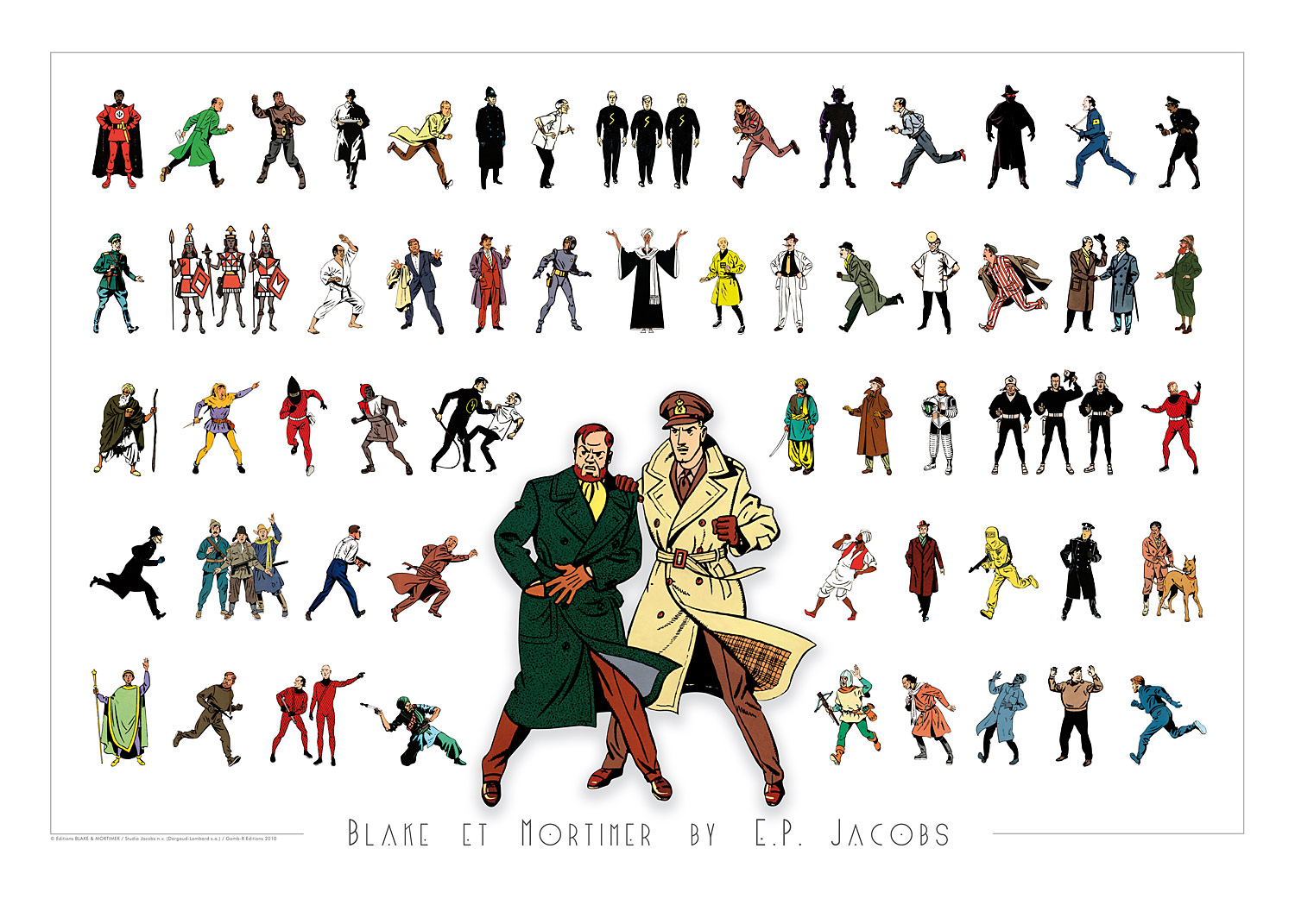 Blake et Mortimer by E. P. Jacobs